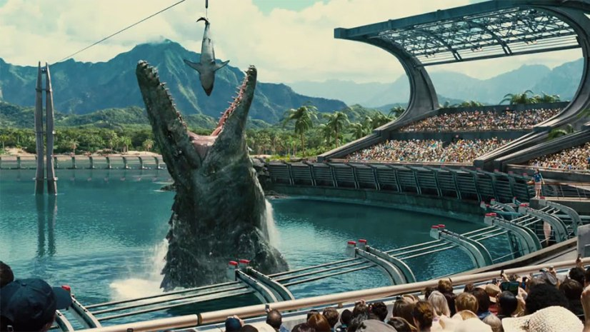 Image result for jurassic world climax movie scene